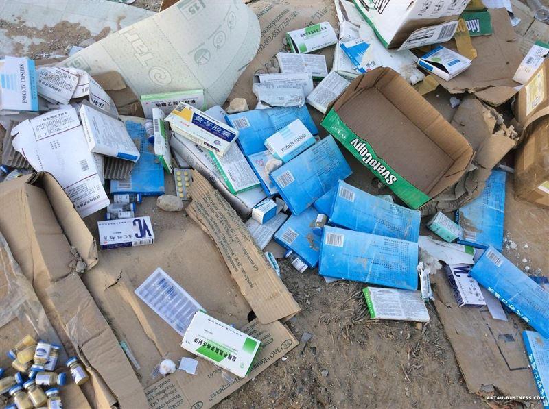На свалке в Усть-Каменогорске нашли опасные медицинские отходы