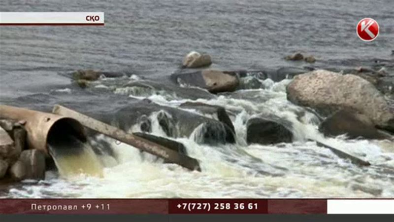 Солтүстікте 500-ге жуық тұрғыны бар ауыл қызыл судың құрсауында қалды