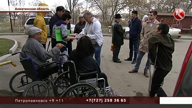 Куда подевалось инватакси в Алматинской области