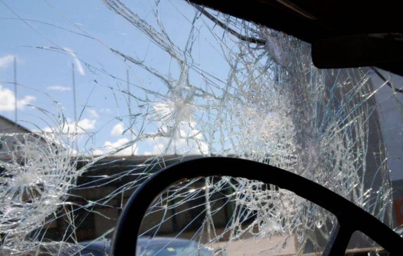 Четыре автомобиля столкнулись в Алматы
