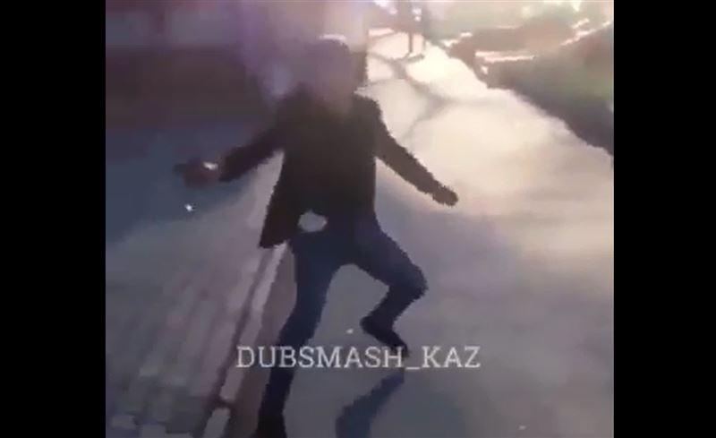 Полиция Алматы задержала стрелявшего в прохожих мужчину