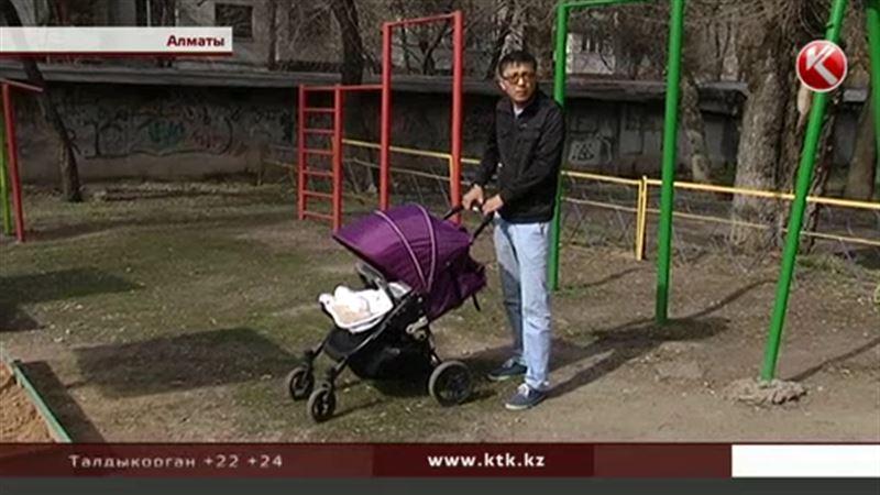 Алматинцы возмущены: на месте детской площадки хотят построить жилой комплекс