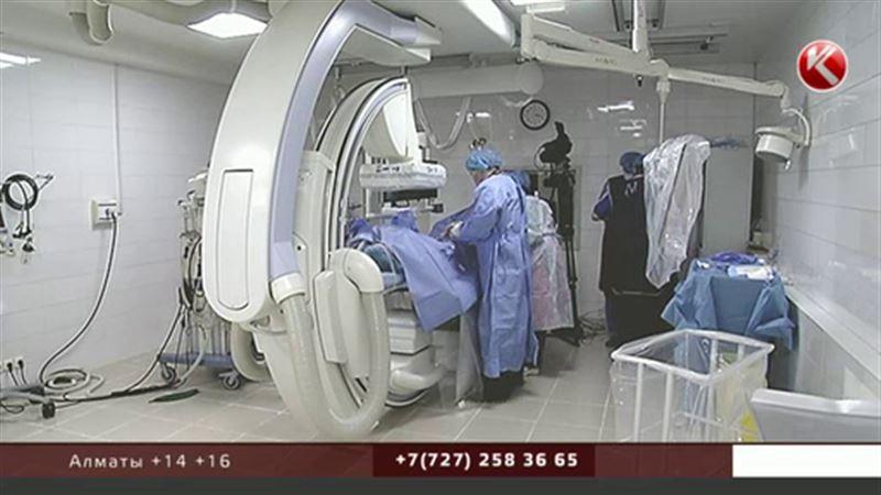Операцию в алматинской клинике транслировали на весь мир