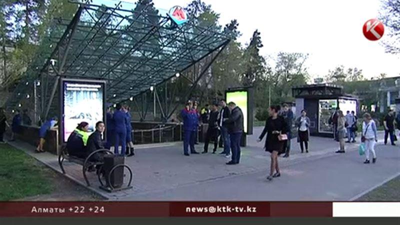 В алматинском метро ищут бомбу