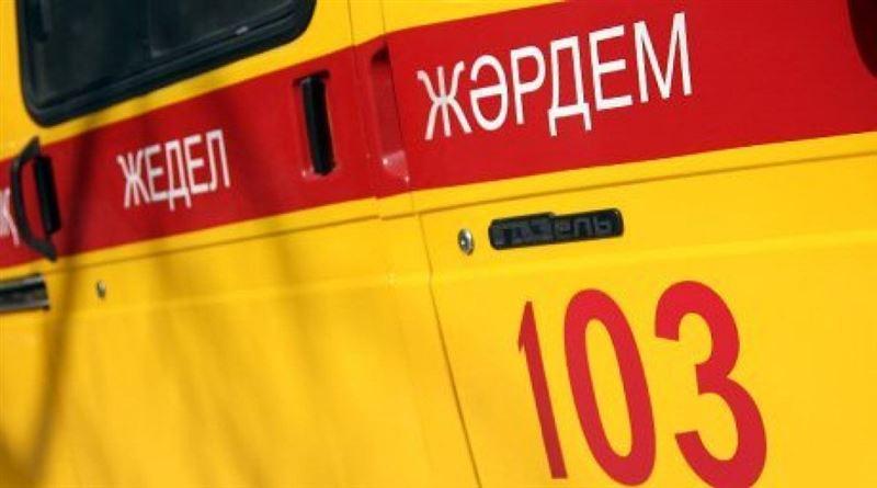 Грузовик задавил пожилого велосипедиста в Алматы