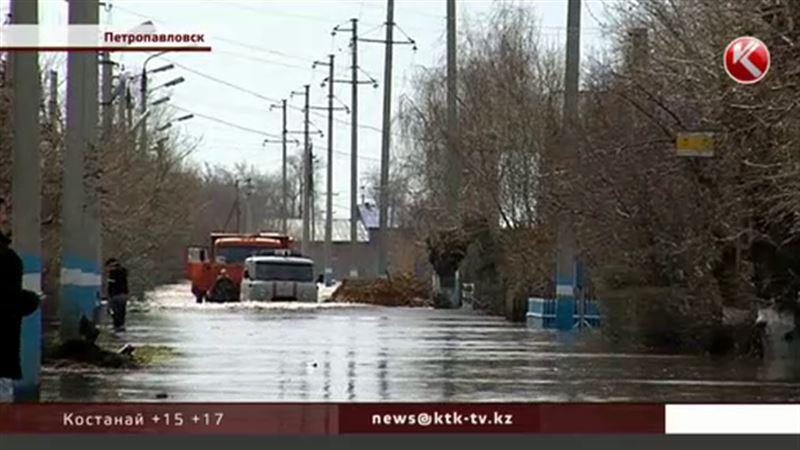 Несколько десятков лет Петропавловск не переживал такого сильного паводка