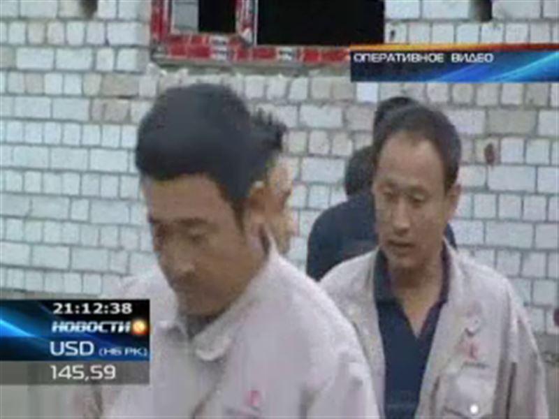 В Актобе задержана очередная группа нелегальных китайских рабочих