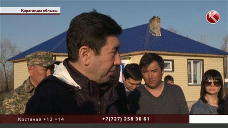 Қарағанды облысының әкімі су астында қалған тұрғындарға сәл шыдай тұруға кеңес берді
