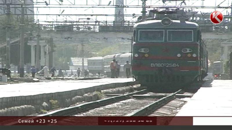 Прямой поезд сообщением Алматы – Москва ходить не будет