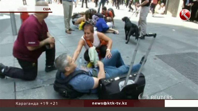 Казахстанцев среди пострадавших на Таймс-сквер нет