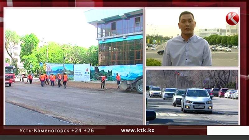В Алматы уберут трамвайные рельсы и начнут масштабный ремонт дорог