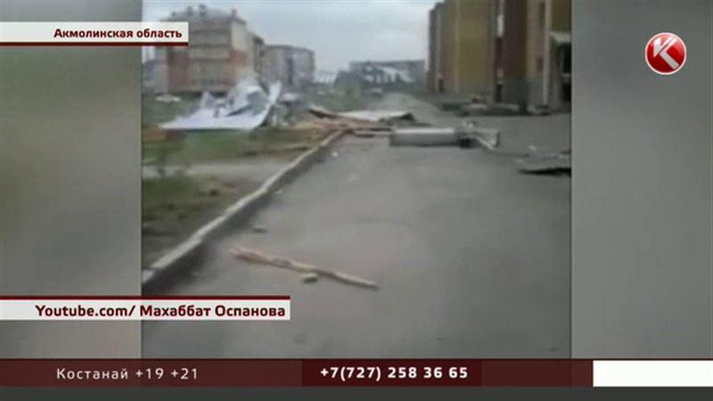 В двух областях после урагана остались без крыш школы и многоэтажки