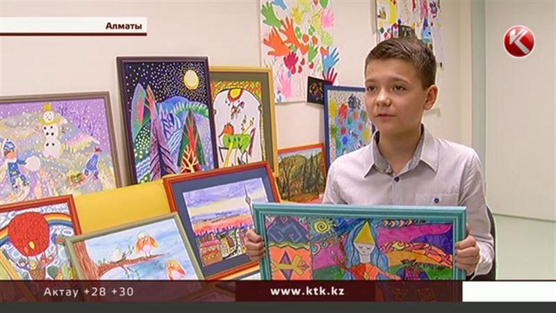 12-летний алматинец помогает онкобольным детям