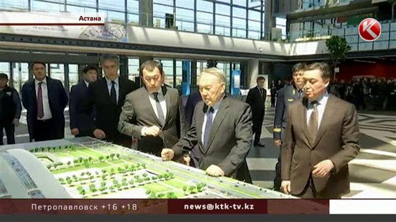 Нурсултану Назарбаеву понравился новый вокзал в Астане