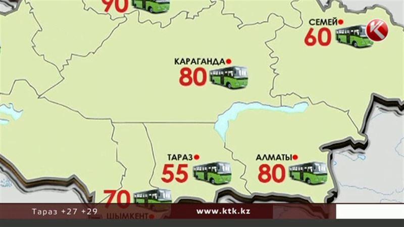 Что происходит со стоимостью проезда в казахстанских городах