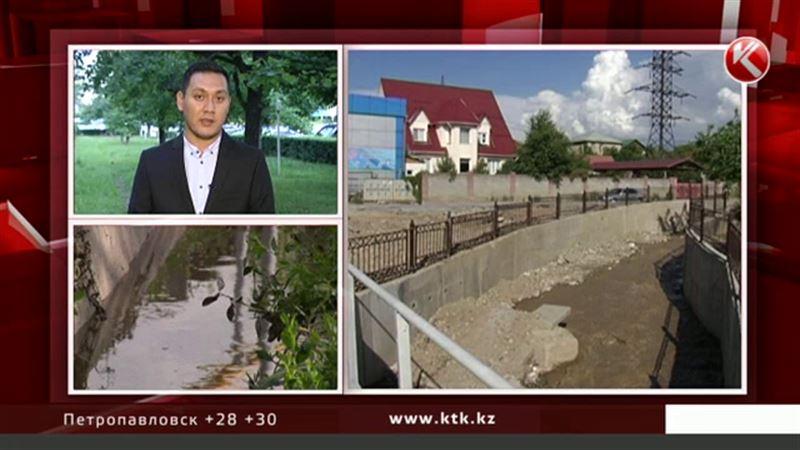 Жителям одного из районов Алматы еще пять лет будет грозить наводнение