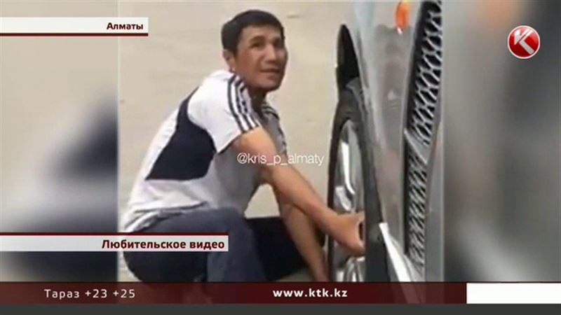 Алматинский воришка в наказание попросил водителя отдавить ему руки