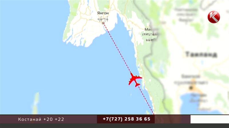 Мьянманский самолет обнаружили в Андаманском море