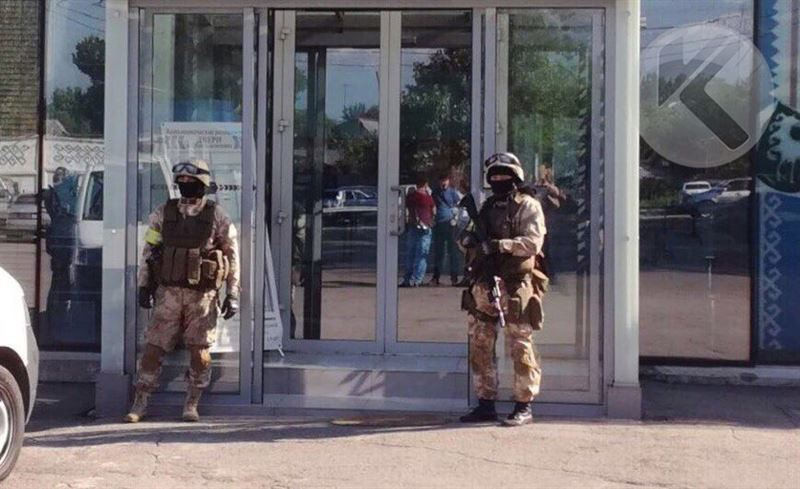 ЭКСКЛЮЗИВ: Первые кадры спецоперации в Алматы