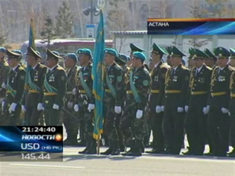 Военнослужащие и служба президентского Протокола отрабатывают последние штрихи церемонии инаугурации