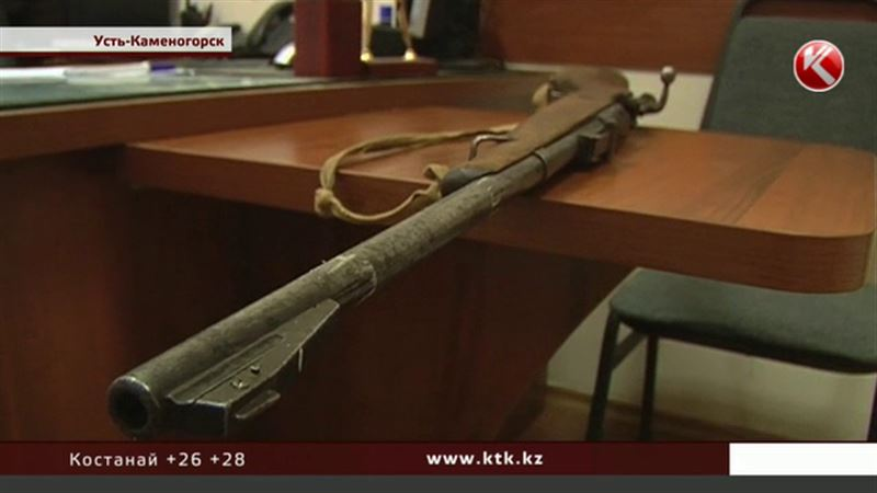 Житель Усть-Каменогорска сдал в полицию карабин Кочетова