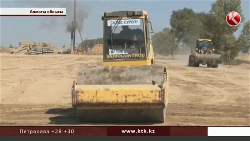 Қарсылық: Жамбыл облысында тұрғындар жолдың құрылысын тоқтатуды талап етті