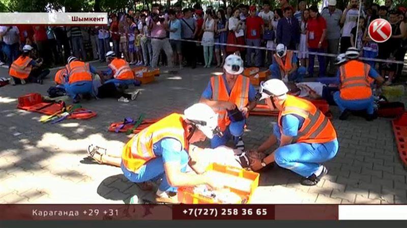 В Шымкенте состязались бригады скорой помощи