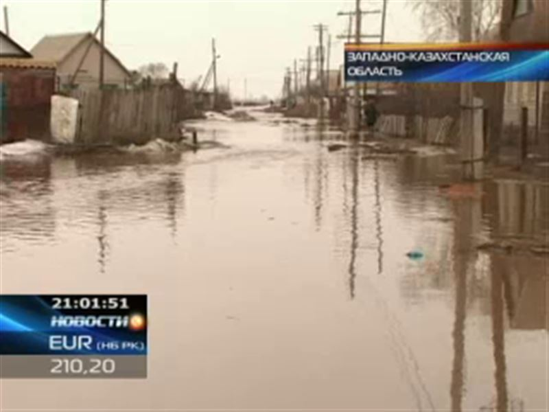 В Западном Казахстане мощные паводки