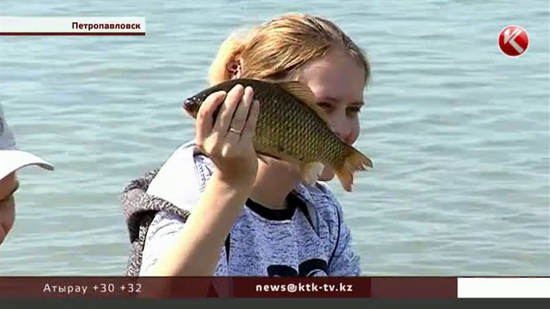 День карася отметили петропавловские рыбаки