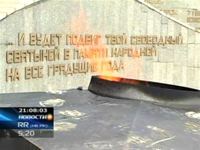 В Усть-Каменогорске разрушается мемориал, возведенный в память о погибших в годы Великой Отечественной войны