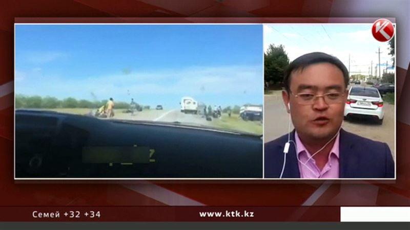Жантүршігерлік оқиға: Ақтөбе облысында болған жол апатына байланысты Ішкі Істер министрлігі мәлімдеме жасады