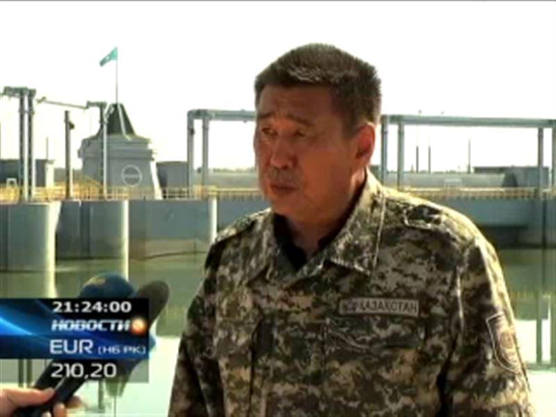 На юге Казахстана нет весенних наводнений благодаря Коксарайскому контррегулятору