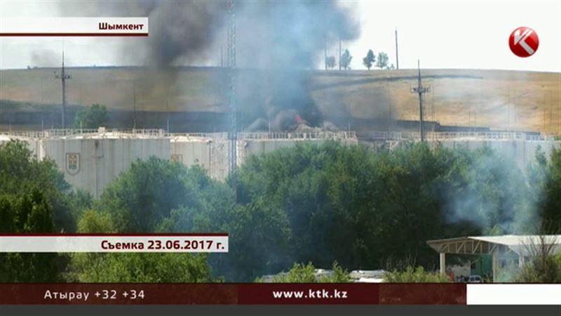 Семье погибшего при пожаре сотрудника шымкентской нефтебазы выплатят компенсацию