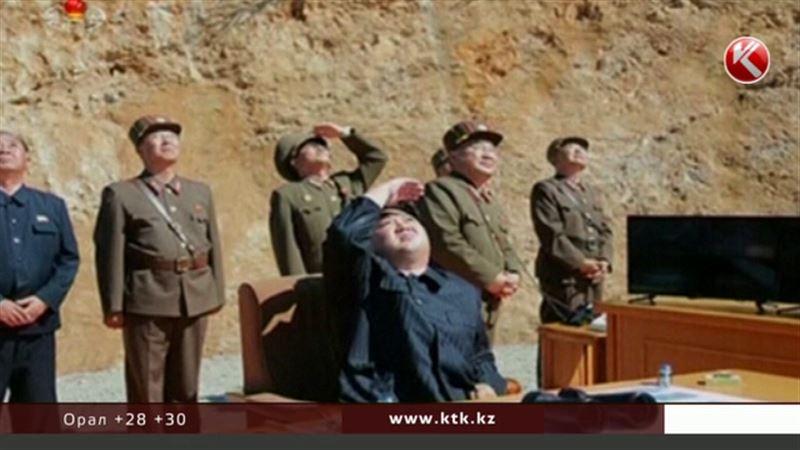 Солтүстік Кореяда қауіпті зымыран сынақтан сәтті өтті
