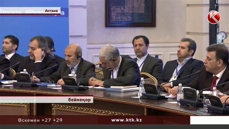 Астанада Сирия үкіметі мен қарулы оппазиция бетпе-бет жүздесті
