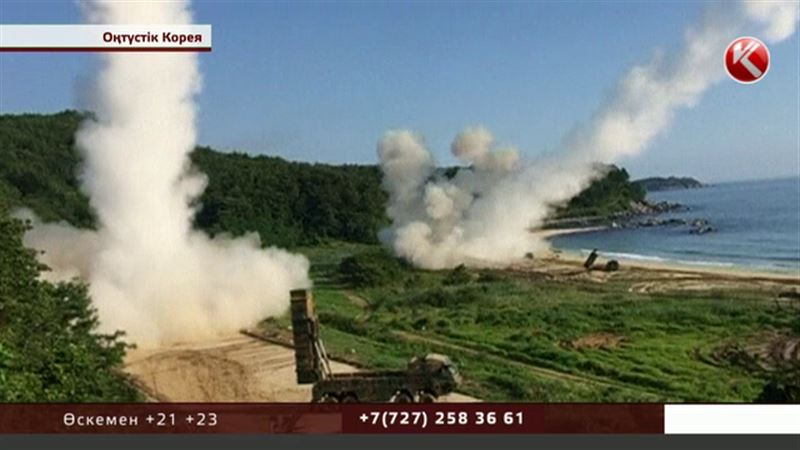 Оңтүстік Корея мен АҚШ Пхеньянға қарымта берді
