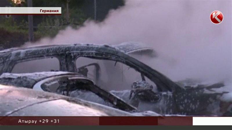 Ал Германияның Гамбург қаласында «Порше» автосалоны отқа оранды