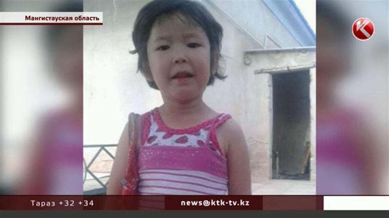 Почти сутки в Мангистауской области искали 4-летнюю Айгуль