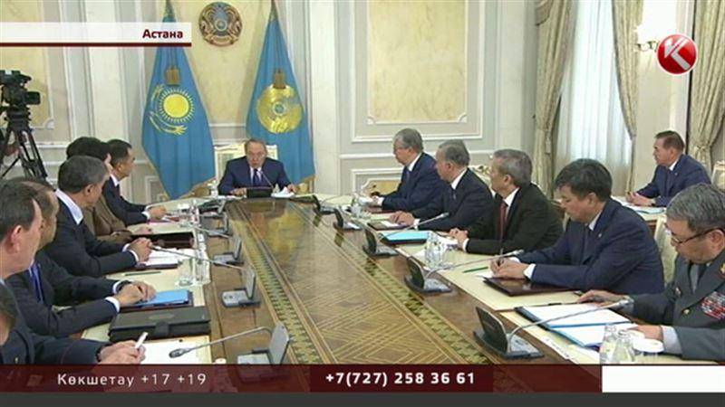 Назарбаев күш құрылымдарының басшыларын Ақордаға шақыртты