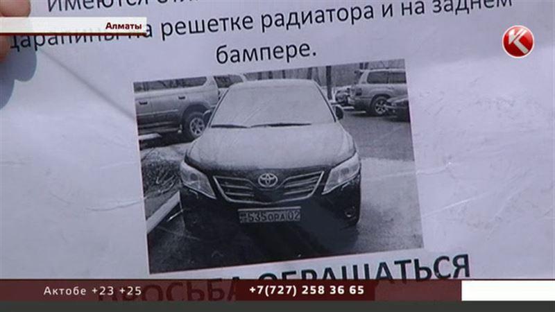 Из одного микрорайона Алматы угнали сразу восемь «Тойот»