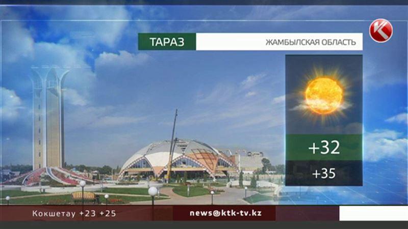 На юге – жара, в столице – град: погода испытывает казахстанцев на прочность