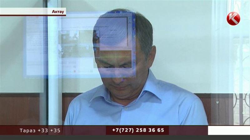 В Актау осудили директора футбольного клуба «Каспий»