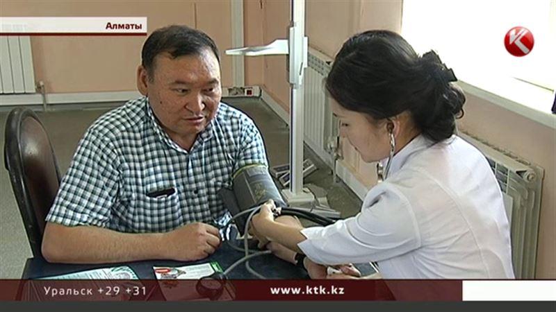 Алматинские врачи ищут пациентов на рынках и базарах