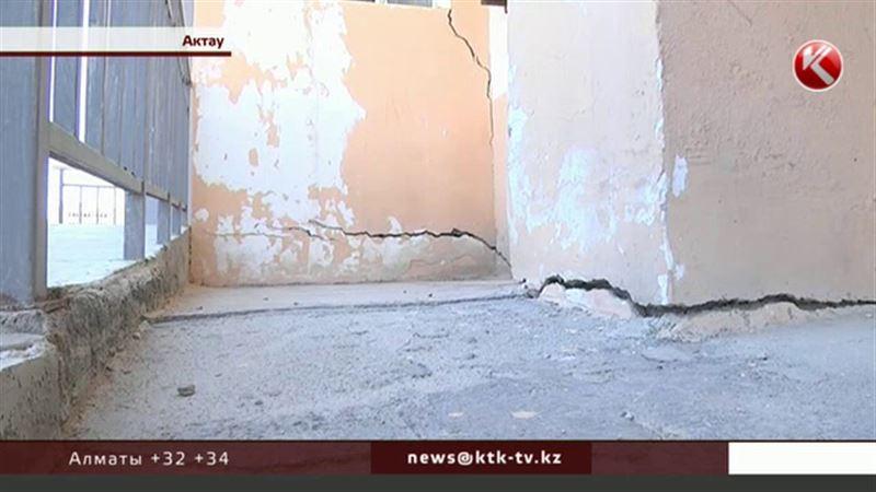 Жильцы бьют тревогу: в Актау трещит по швам новостройка