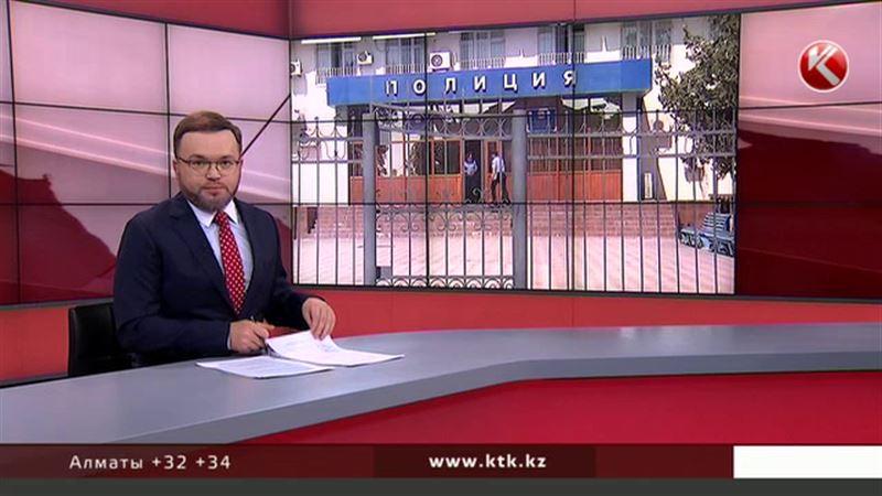 Бандиты во время задержания обстреляли актюбинских полицейских