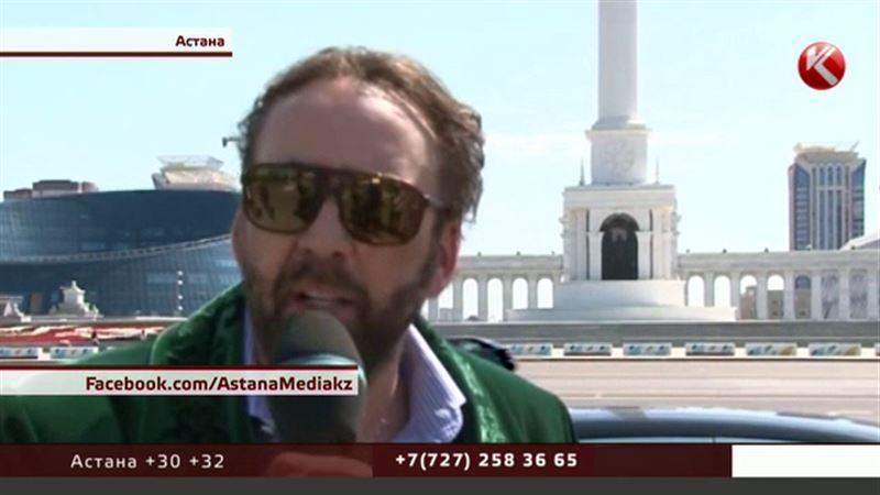 Николас Кейдж поделился впечатлениями о Казахстане