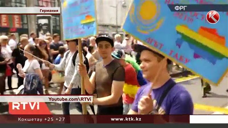 Гей-пара из Казахстана – металлург и электрик – рассказала, как ходила на парад