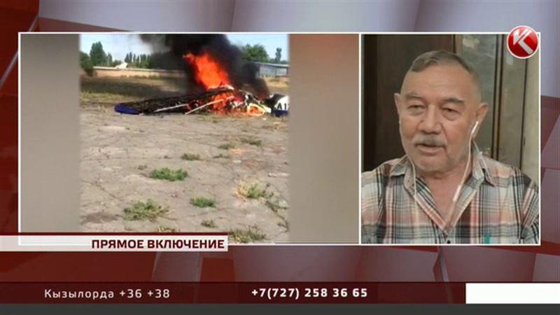 ПРЯМОЕ ВКЛЮЧЕНИЕ: мнение эксперта о состоянии рухнувшего Як-12