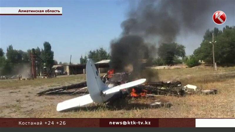 Пилот Як-12 предотвратил массовую гибель людей – очевидцы