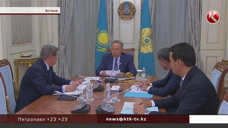 Ақорда: Назарбаев   ЭКСПО-ны шебер ұйымдастарған Есімовті мақтады